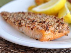 Pecan-encrusted Salmon