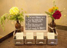 Vintage, Artsy, Eco-Friendly Wedding - Wedding,  Cards,  Seating