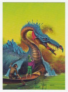 Darrell K. Sweet Cards # 7 Begging for Safe Passage - FPG - 1994
