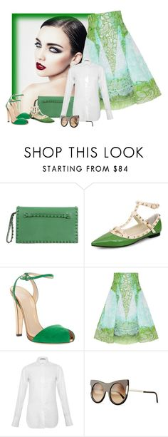 """""""Peter Pilotto, Gucci, Valentino and Stella McCartney."""" by karollpc ❤ liked on Polyvore featuring Valentino, Gucci, Peter Pilotto, STELLA McCARTNEY, women's clothing, women's fashion, women, female, woman and misses"""