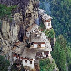 Taktshang which means Tiger Nest in Bhutanese. is the designated the 10th holiest place in the world.