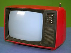 Junost - Vintage portable television set (Made in USSR)