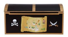 Guidecraft Pirate Treasure Chest - G83705 $184 The perfect oversized chest for your child