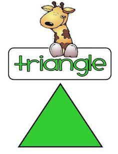 jungle theme shapes