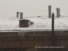 Moskau Grau in Grau