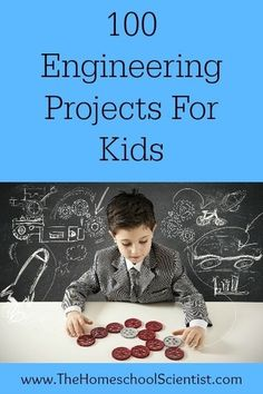 100 engineering projects for kids! Lots of clever, hands on STEM activities for kids of all ages. 100 engineering projects for kids! Lots of clever, hands on STEM activities for kids of all ages. Kid Science, Science Classroom, Science Lessons, Teaching Science, Science Activities, Activities For Kids, Science Experiments, Teaching Art, Art Lessons