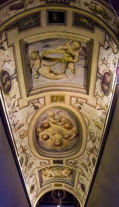 Italian Style - Frescoed Ceiling