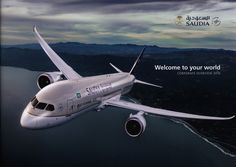 https://flic.kr/p/R1zfgT | Saudia, Welcome to your world. Corporate Overview 2016_1, Boeing B787-9 Dreamliner