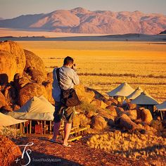 Photographing the #WolwedansBoulders #SafariCamp, #Namibia. || The essence of #Boulders lies in the #tranquility and #solitude of its #desert location, in the warmth of #sunrays, in the #morning #breeze, #whispering in the #canvas of the #luxurious #safariTents.  Tucked away in a cluster of #granite rocks, in touch with the vast, #arid #landscape, the #Wolwedans #Boulders camp is a reminder of how important the choice of a #hotel is to the travel #experience. || #romance #adventure #Africa…