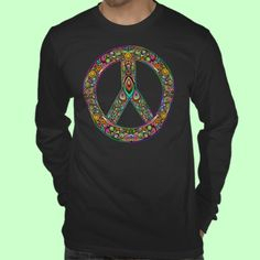 #Peace #Symbol #Psychedelic #Art #Design #t_shirt!    http://www.zazzle.com/peace_symbol_psychedelic_art_design_t_shirt-235168197061493125