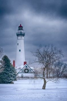 Wind Point Lighthouse  Racine, Wisconsin
