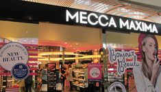 mecca maxima Westfield Doncaster, Mecca Maxima, Makeup Junkie, Makeup Cosmetics, Becca, Retail, Beauty, Diy Creative Ideas, Beauty Illustration