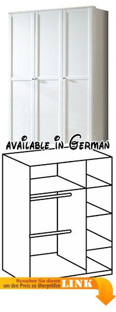 B01NCJ3XV9  FineBuy Vintage Kommode Massiv 75 x 85 x 35 cm - schlafzimmerschrank landhausstil weiß