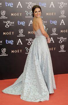 Los tejidos Gratacós convertidos en espectaculares #vestidos para la gala de los Goya 2014 #moda #Estilo #Tejidos #Fashion #Famosos #Goya2014 #LosGoya #PaulaEchevarría