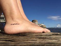 Aboriginal Tattoo; Meaning 'Travel', 'Journey path'