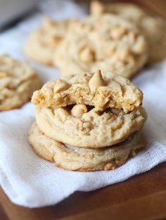 The PERFECT Soft Peanut Butter Cookie