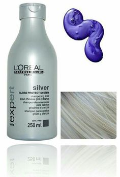 27 Trendy Ideas for hair color blonde platinum purple shampoo Silver Blonde, White Blonde, Blonde Color, White Hair, Hair Color, Silver Hair Dye, Grey Hair Dye, White Ombre, Purple Shampoo