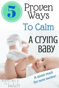 New Moms- Read this! If only I had know this with my first sweet little crying baby, I could have saved myself and my baby hours of frustration! (Baby DIY)