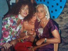 Ibiza años 80 con mi gran amiga Dora Herbs