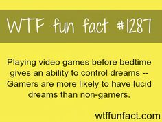 video games - gamer facts MORE OF WTF FACTS are coming HERE games, movie and fun facts