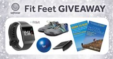 Win a fitness prize package valued over $500, including a Fitbit Ionic and a custom pair of Softstar RunAmoc shoes!