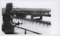 Marine Guards Da Nang Bridges, 1969
