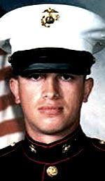 Marine Cpl Gentian Marku, 22, of Warren, Michigan. Died November 25, 2004, serving during Operation Iraqi Freedom. Assigned to 1st Battalion, 8th Marine Regiment, 2nd Marine Division, II Marine Expeditionary Force, Camp Lejeune, North Carolina. Died of wounds sustained when hit by enemy small-arms fire during combat operations in Fallujah, Anbar Province, Iraq.