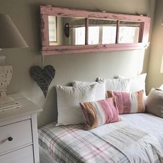 Shutter Projects, Wood Projects, Painted Furniture, Diy Home Decor, Master Bedroom, Home Improvement, Colours, Storage, House