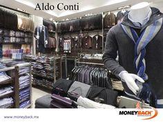 Aldo Conti cuenta con una gran línea de ropa de vestir para hombre, incluyendo sacos, trajes, camisas, abrigos y accesorios disponibles en cualquiera de sus sucursales en México, ¡que te otorgan una devolución de impuestos para extranjeros viajando en el país! #viajeamexico