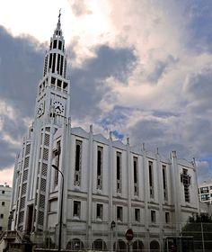 Église Saint-Jean-Bosco de Paris, 1933 -1937 (chantiers du cardinal verdier) Architecte: Dimitrou Rotter