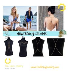 New Body Chain, Beachwear Jewelry, Tan Lines Jewelry