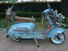 Piaggio Scooter, Mod Scooter, Scooter Motorcycle, Vespa Lambretta, Motor Scooters, Vespa Scooters, Mods Style, Mini Bike, Mod Fashion