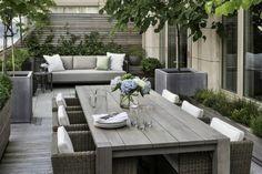 Aménager une terrasse en bois.