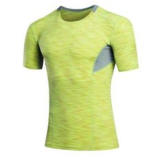 41519577558cf 2017 Sportswear Shirt Mens Skin Tight Short Sleeve Sport Top Bodybuilding  Fitness Compression Shirt Men Sport Gym Running Shirt