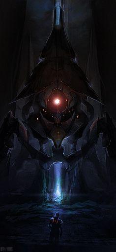 Mass Effect: The Beam by ~quargon on deviantART   # Pin++ for Pinterest #