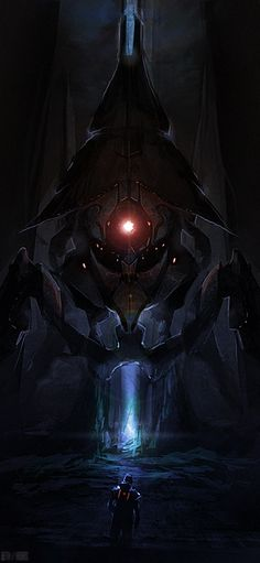 Mass Effect: The Beam by ~quargon on deviantART