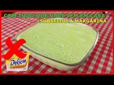 MARGARINA NUNCA MAIS!!! FAÇA ESSA DELICIA COM POUCOS INGREDIENTES QUE VOCÊ TEM EM CASA!!! - YouTube Pasta, Youtube, Good Food, Easy Meals, Appetizers, Make It Yourself, Banana, Cooking, Coconut Flour Bread