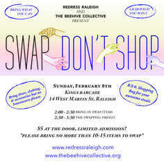 Swap, Don't Shop! Co-hosted with The Beehive Collective — Redress