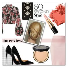 """""""60 second interview outfit"""" by asapholly ❤ liked on Polyvore featuring Jill Stuart, Winser London, Christian Louboutin, Bobbi Brown Cosmetics, MICHAEL Michael Kors and Too Faced Cosmetics"""