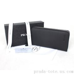 b6da48ef9af1 Fashion  Prada Saffiano Leather Zippy Wallet Outlet store