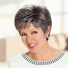 Salt And Pepper Gray Hair Styles. on salt and pepper hair women short ...