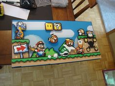 Perler beads. I want to be this awesome.
