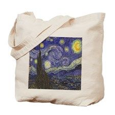 Van Gogh Starry Night Tote Bag for