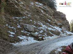 http://planning4holidays.blogspot.in/2015/03/road-trip-to-bir-paragliding-capital-of.html .. Snow Mud an water along the journey from Bir to Billing .. #paragliding #road #trip #village #monastery #large #stupa #Bir #landing #point #Billing #take #off #adventure #Himachal #Pradesh #India #HolidayPlans #mud #water #snow #journey