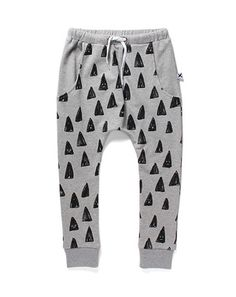 Minti Happy Triangles Drop Trackies