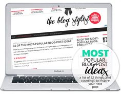 32 of the most-popular blog-post ideas