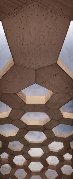 Plywood Dome v.2 via Kristoffer Tejlgaard