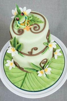 Gorgeous Cakes, Pretty Cakes, Amazing Cakes, Cupcakes, Cupcake Cakes, Pond Cake, Frog Cakes, Ice Cake, Just Cakes