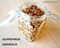 granola homemade gezond ontbijt