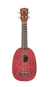 Ukulele are F-U-N! Right? Try to be sad while strumming a Pineapple uke; it just doesn't work. Play them and laugh or just hang them on the wall and see what yo